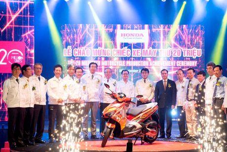 Honda Viet Nam xuat xuong chiec xe may thu 20 trieu - Anh 3