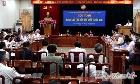 Hoi nghi Doan Chu tich lan thu 10 khoa VIII - Anh 3