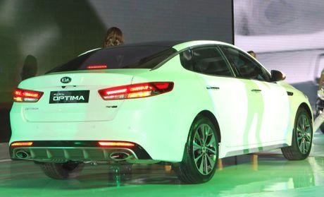 Anh Kia Optima: Doi thu gia re cua Toyota Camry o VN - Anh 11