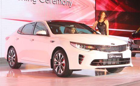 Anh Kia Optima: Doi thu gia re cua Toyota Camry o VN - Anh 2
