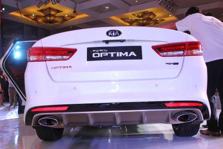 Anh Kia Optima: Doi thu gia re cua Toyota Camry o VN - Anh 6