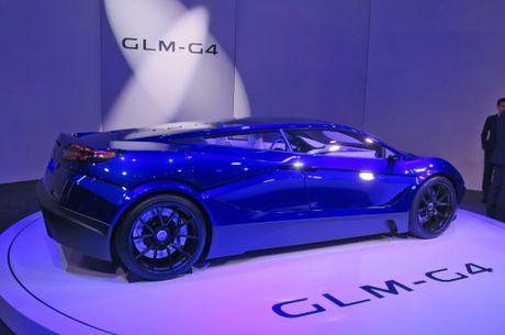 GLM G4 - sieu xe dien Nhat Ban canh tranh Tesla - Anh 4