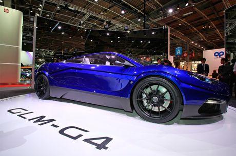 GLM G4 - sieu xe dien Nhat Ban canh tranh Tesla - Anh 7