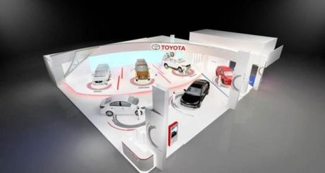 Toyota mang van truot hoverboad toi Vietnam Motor Show 2016 - Anh 1