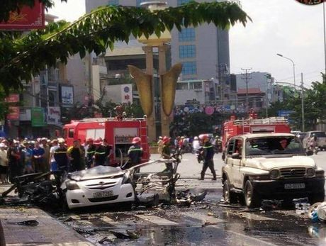 Quang Ninh: Nan nhan vu no taxi de lai thu tuyet menh - Anh 1