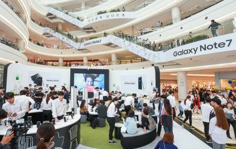 Samsung ban tro lai Galaxy Note 7 tren toan cau - Anh 1