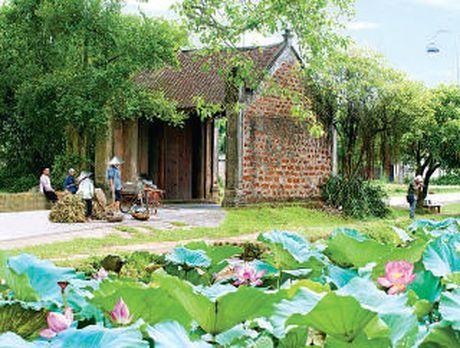 Mong Phu (Ha Noi) - Bieu tuong truyen thong cua lang que Viet - Anh 2