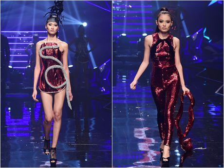 Nhung khoanh khac 'dat gia' trong dem chung ket Vietnam's Next Top Model 2016 - Anh 9