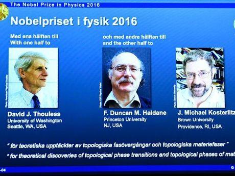 Giai Nobel Vat ly 2016 da thuoc ve 3 nha khoa hoc goc Anh - Anh 1