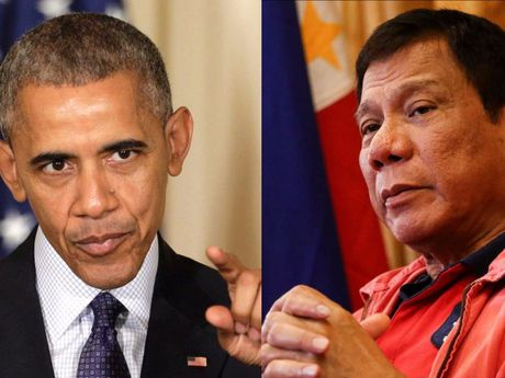 Tong thong Philippines Duterte lai xuc pham ong Obama - Anh 1