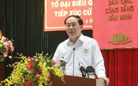 Chu tich nuoc: Toi pham tham nhung tron di dau cung khong thoat - Anh 1