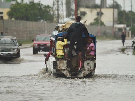 Sieu bao Matthew tan cong Nam Haiti, My so tan khan 1 trieu nguoi - Anh 1