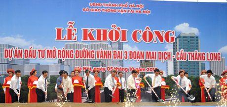 Pho Thu tuong phat lenh khoi cong cong trinh trong diem cua Thu do - Anh 1