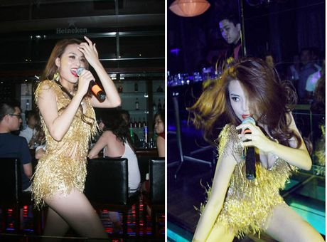 Khong the roi mat voi nhung man 'lon, xoac' cua Hoang Thuy Linh - Anh 9