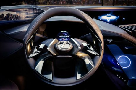 Ngam tron Lexus UX concept thiet ke 3D doc nhat vo nhi - Anh 8