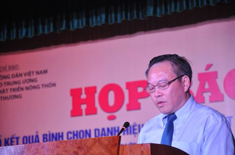 Hop bao ve 3 su kien lon mung Ngay thanh lap Hoi Nong dan Viet Nam - Anh 1