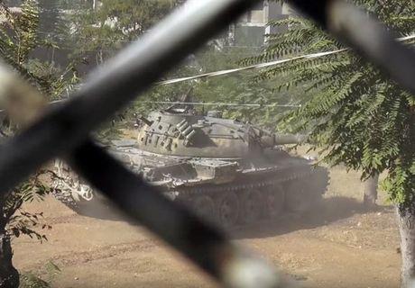Can canh cuoc phan cong cua quan doi Syria giua long Aleppo - Anh 3