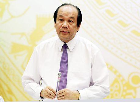Bo truong, Chu nhiem VP Chinh phu Mai Tien Dung: Nang tuoi nghi huu la tat yeu - Anh 1
