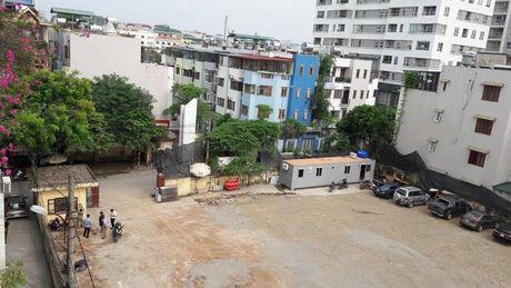 Quan Thanh Xuan (Ha Noi): Don de nghi khan cap cua cac ho dan ngo 183 Hoang Van Thai - Anh 1
