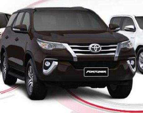 Toyota Fortuner 2017 trinh lang tai Viet Nam - Anh 1