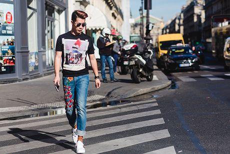 Fashionista Viet chat chang kem sao ngoai o Paris Fashion Week - Anh 4