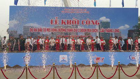 Ha Noi: Tren 3.000 ty dong cho 5,5km duong vanh dai 3 mo rong - Anh 1
