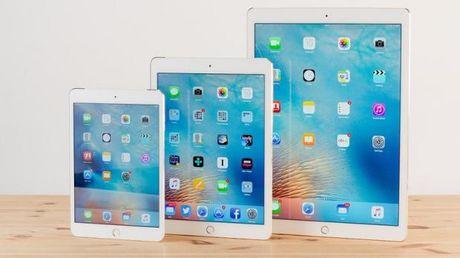 Apple tung bo 3 iPad Pro vao mua Xuan 2017 - Anh 1