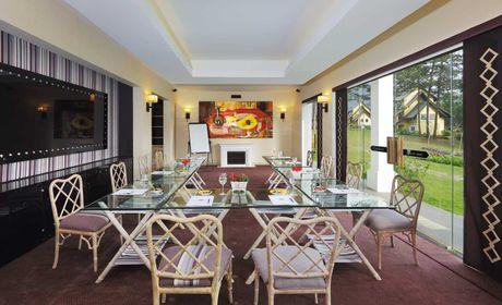 Chiem nguong resort tran ngap sac hoa o Da Lat thang 10 - Anh 4