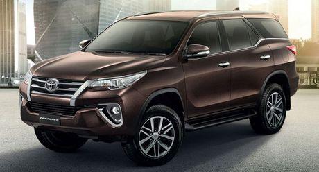 Toyota Fortuner 2017 vua ra mat tai Viet Nam co gi dac biet? - Anh 1