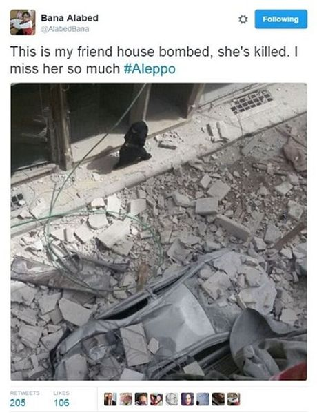 Be gai 7 tuoi ky su tu thanh pho bom dan Syria - Anh 3