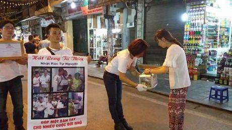 Hot rac, hat rong – nhung nguoi lam dep cho Ha Noi - Anh 8