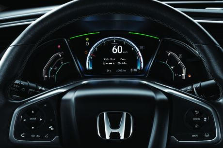 Honda Civic the he thu 10 trinh lang tai trien lam Viet Nam Motor Show 2016 - Anh 11