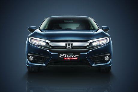 Honda Civic the he thu 10 trinh lang tai trien lam Viet Nam Motor Show 2016 - Anh 2