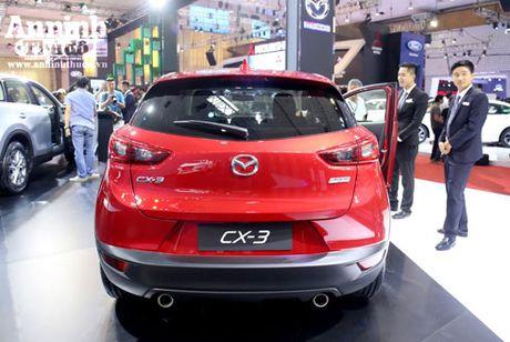 Mau crossover Mazda CX-3 gay chu y tai trien lam - Anh 12
