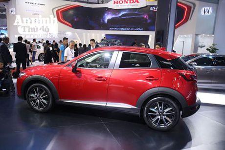 Mau crossover Mazda CX-3 gay chu y tai trien lam - Anh 13