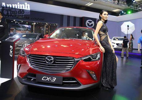 Mau crossover Mazda CX-3 gay chu y tai trien lam - Anh 1
