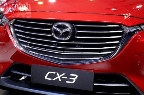 Mau crossover Mazda CX-3 gay chu y tai trien lam - Anh 2