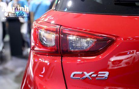 Mau crossover Mazda CX-3 gay chu y tai trien lam - Anh 4