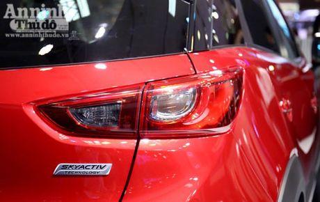 Mau crossover Mazda CX-3 gay chu y tai trien lam - Anh 5