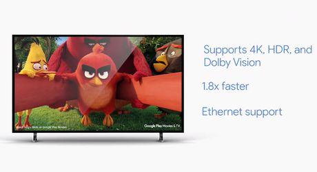 Chromecast Ultra ho tro streaming noi dung 4K - Anh 2