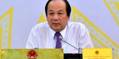 Bo truong Mai Tien Dung: 'Nhieu nuoc phai chi 10-15% GDP de xu ly no xau' - Anh 1