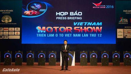 Trien lam O to Viet Nam 2016 chinh thuc khai man - Anh 1