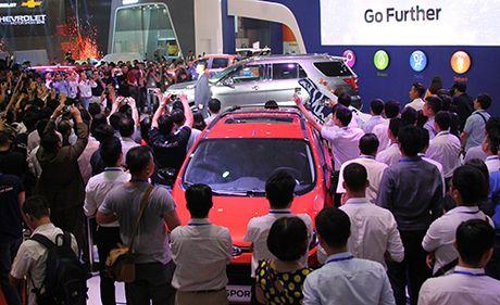 Viet Nam Motor Show 2016 - trien lam cua 'nhung lan dau tien' - Anh 1