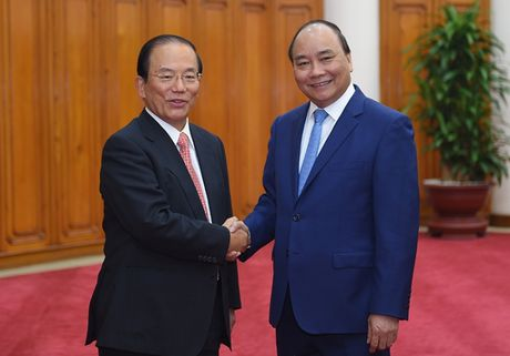 Thu tuong Nguyen Xuan Phuc tiep Chu tich Ban Tu van tai cau truc doanh nghiep Nha nuoc va nganh ngan hang JICA - Anh 1