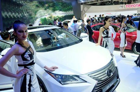 Khai mac trien lam Vietnam Motor Show 2016 - Anh 1