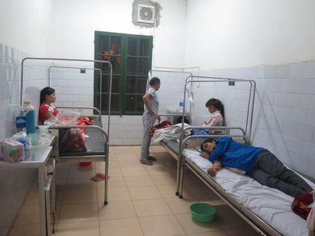 'Thu pham' vu ngo doc sau khi an co cuoi o Nam Dinh: Banh giay va gio nac - Anh 1