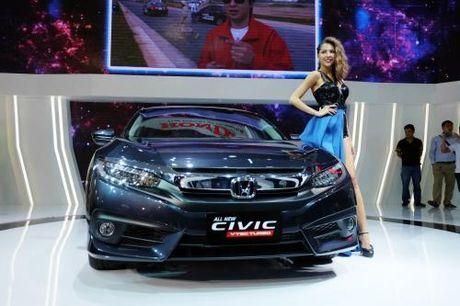 Honda chinh thuc ra mat Civic the he thu 10 hoan toan moi - Anh 1