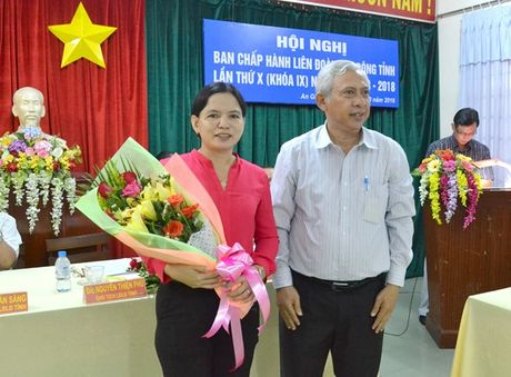 LDLD An Giang co nu Pho chu tich moi - Anh 2