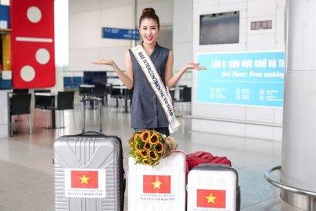 A hau bien Bao Nhu tre trung len duong du thi Hoa hau Lien luc dia 2016 - Anh 1