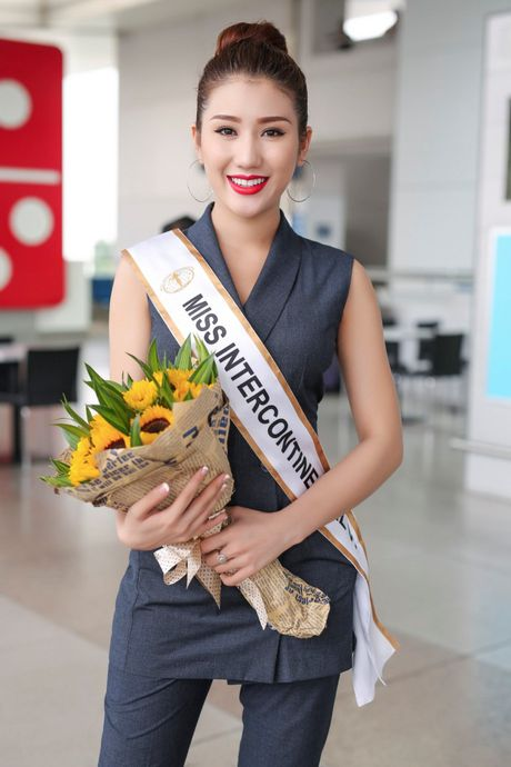 A hau bien Bao Nhu tre trung len duong du thi Hoa hau Lien luc dia 2016 - Anh 3